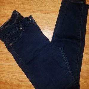 Dark wash stretch Lucky Brand jeans size 6.